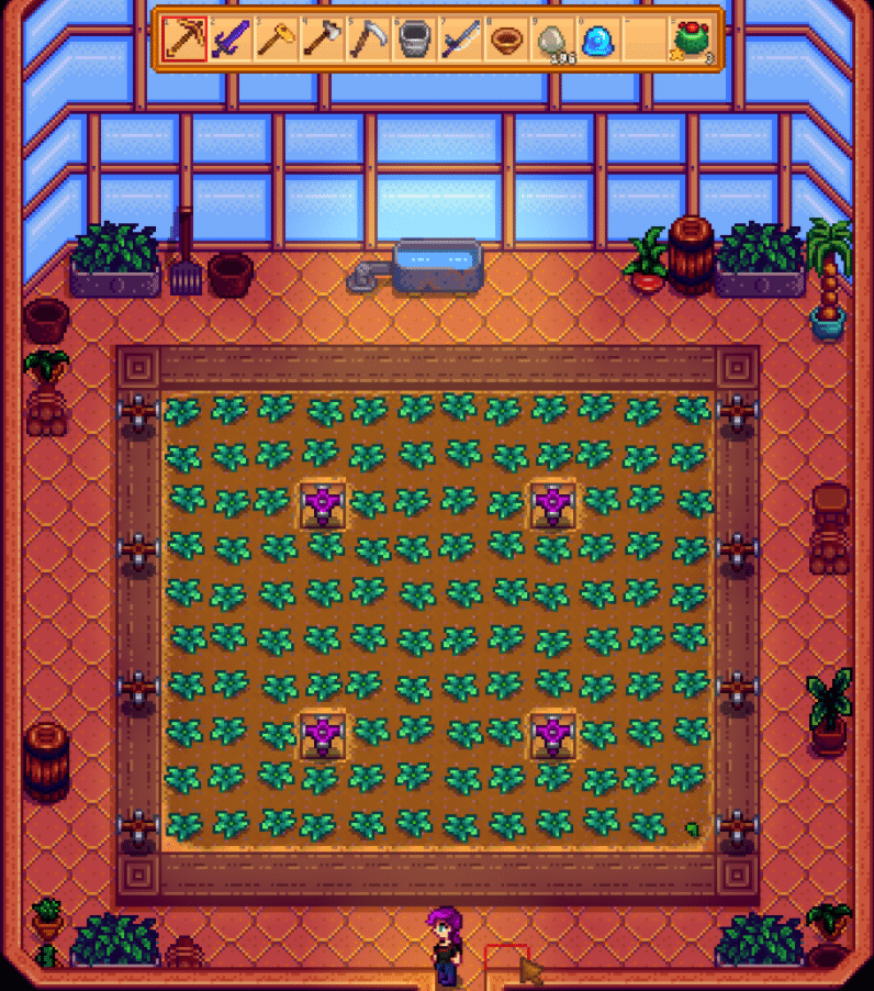 best greenhouse layout